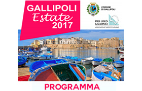 Calendario Eventi Estate 2017 a cura di Pro Loco Gallipoli