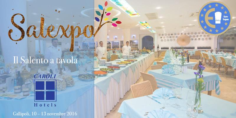 Salexpo Il Salento a Tavola - Gallipoli 10-13 novembre 2016